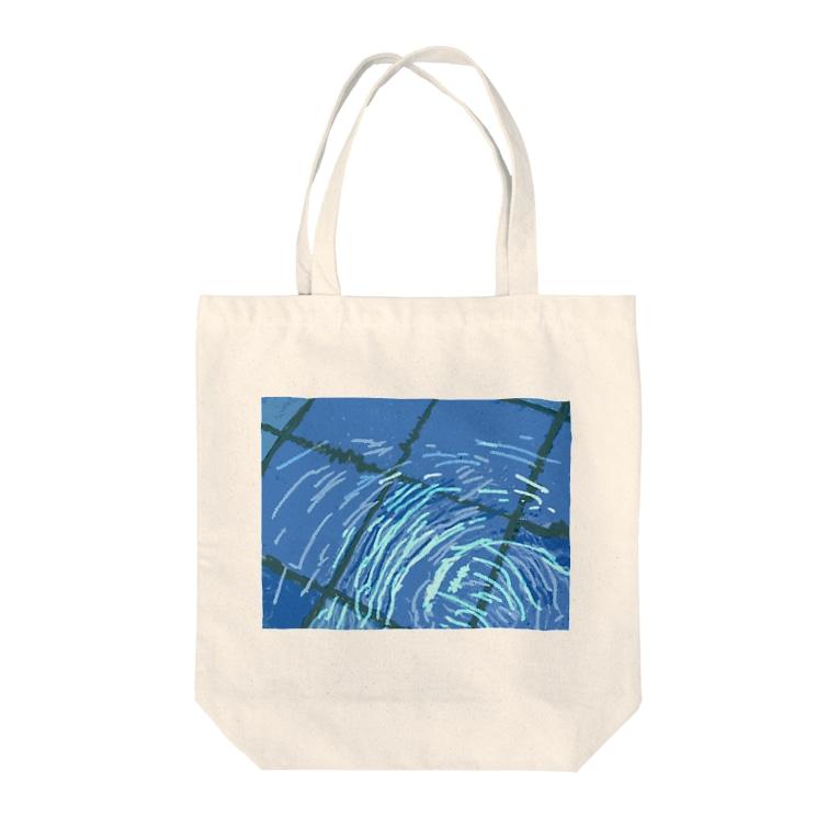 ハナ⸜🌷⸝チャンの清見里市営水泳場 Tote bags