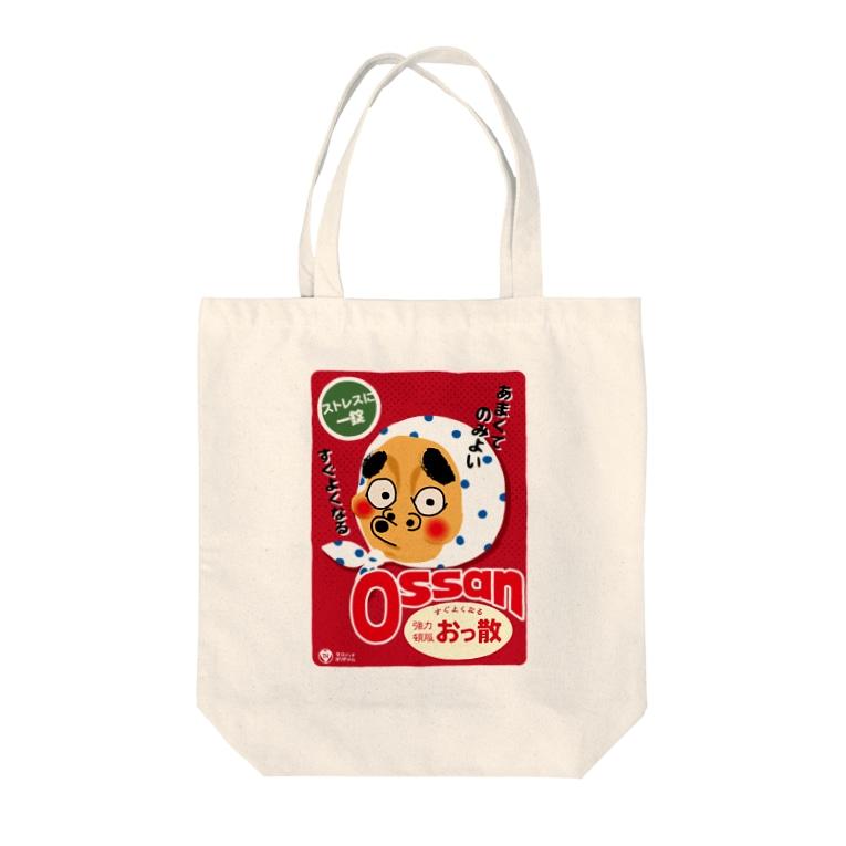 駄菓子と玩具の太郎と花子のオッ散 Tote bags
