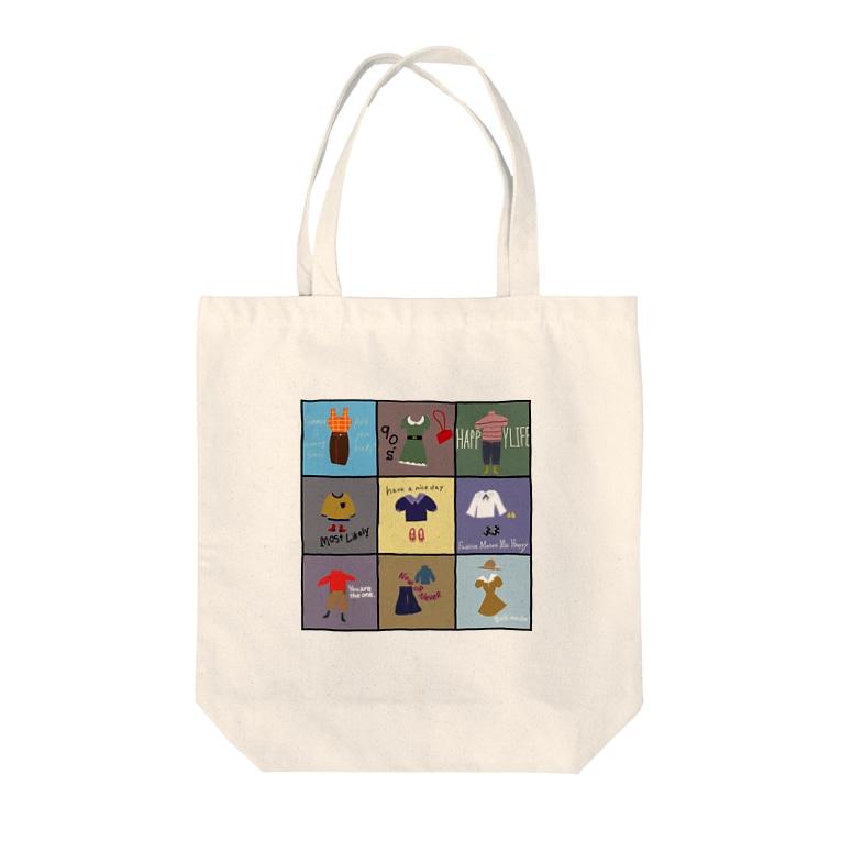 1999のきょうのフク Tote bags