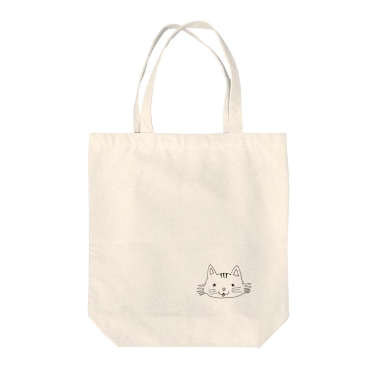 HAL.coのトラ☆ちゃん Tote bags