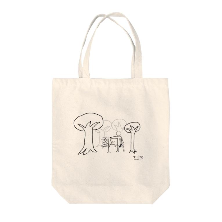 Tim-IllustrationのTim‐Hope2 Tote bags