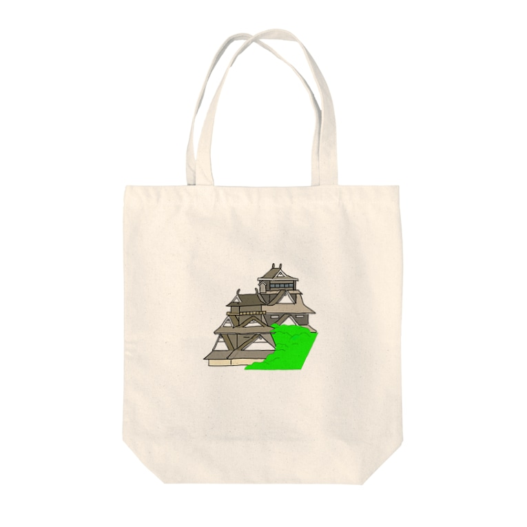 Hey! Joeの熊本城2 Tote bags