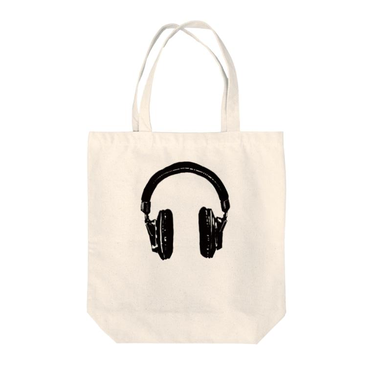 kaworu★SHOP@SUZURIのkaworu★ヘッドフォン Tote bags