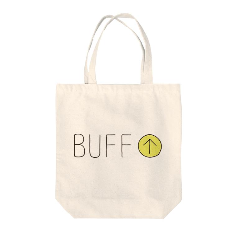 BUFF-BOYのGAME-バフ効果 Tote bags