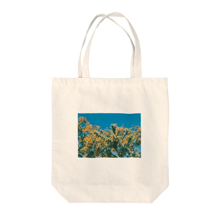 ruu.のミモザ mimosa Tote Bag
