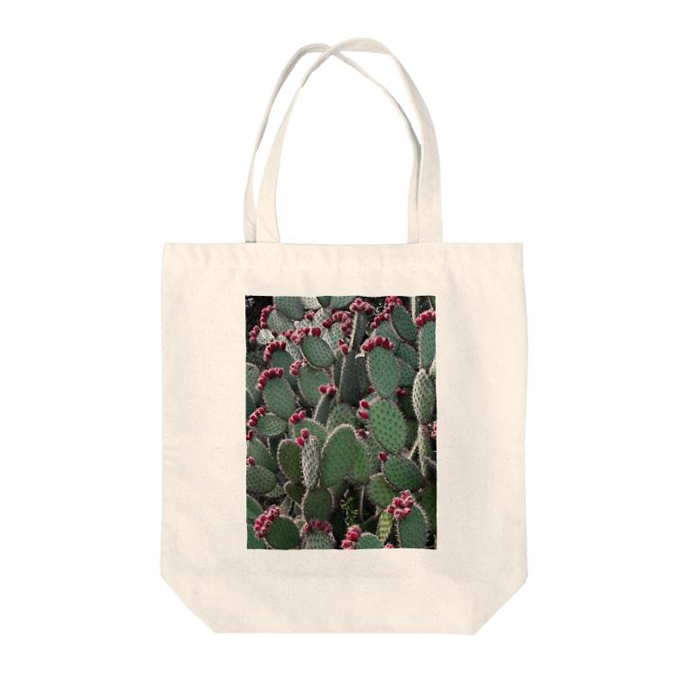 Tabbiesのウチワサボテン Tote bags