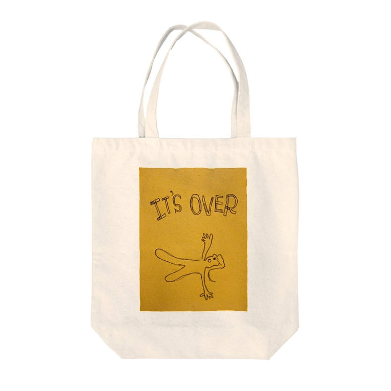 hina0055のit's over Tote bags