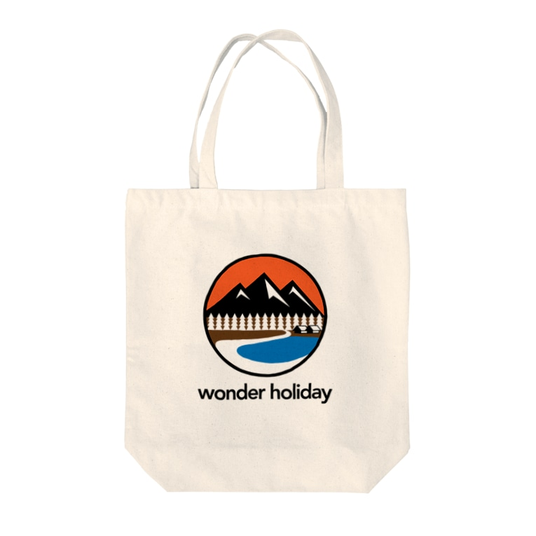 NICE ONEのwonder holiday Tote bags