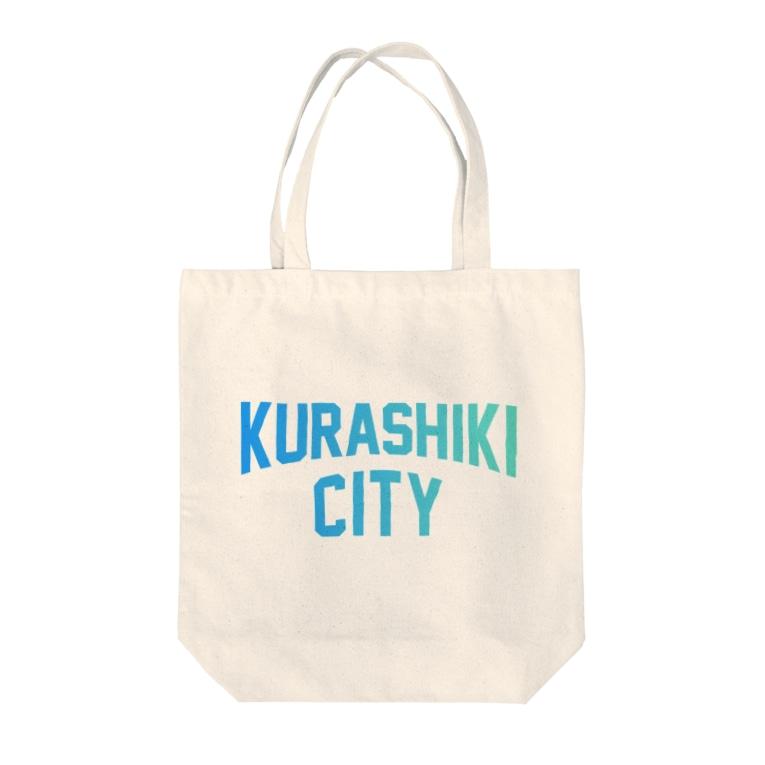 JIMOTO Wear Local Japanの倉敷市 KURASHIKI CITY Tote bags