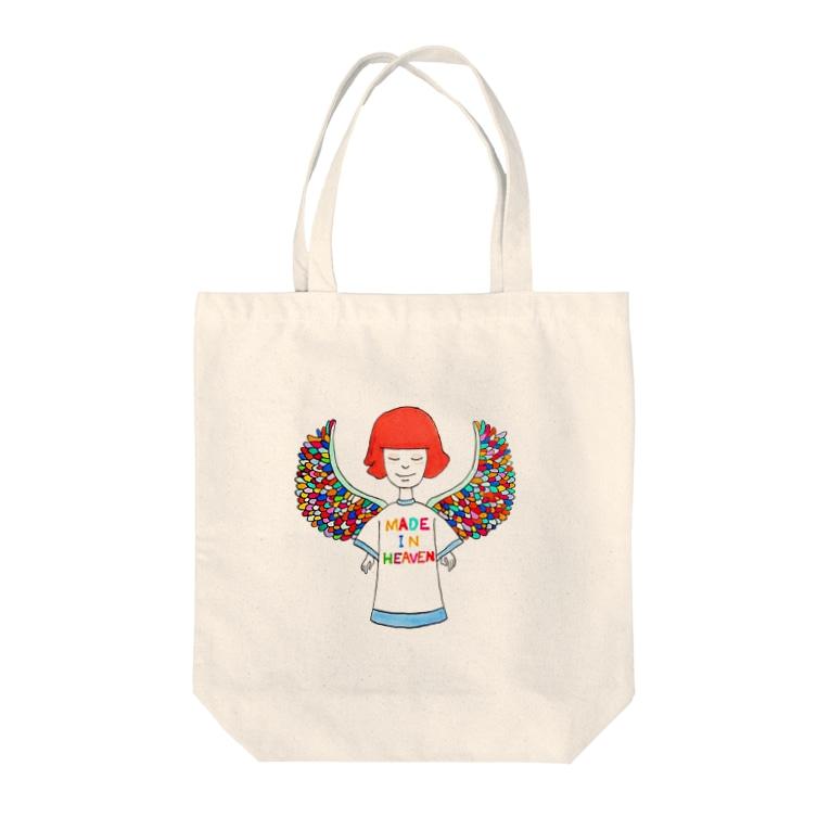 リトルプレスリーのメイド・イン・へヴン Tote bags