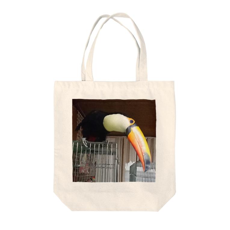 Geotopiaのおおちゃんの憂鬱 Tote bags