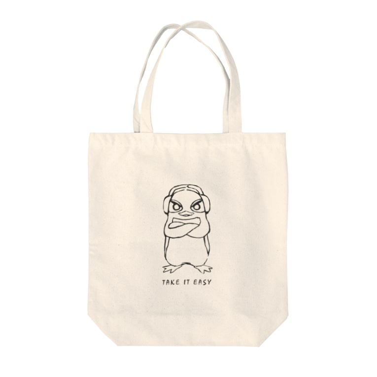 T.I.E STOREのRuさんのラフ画 Tote bags