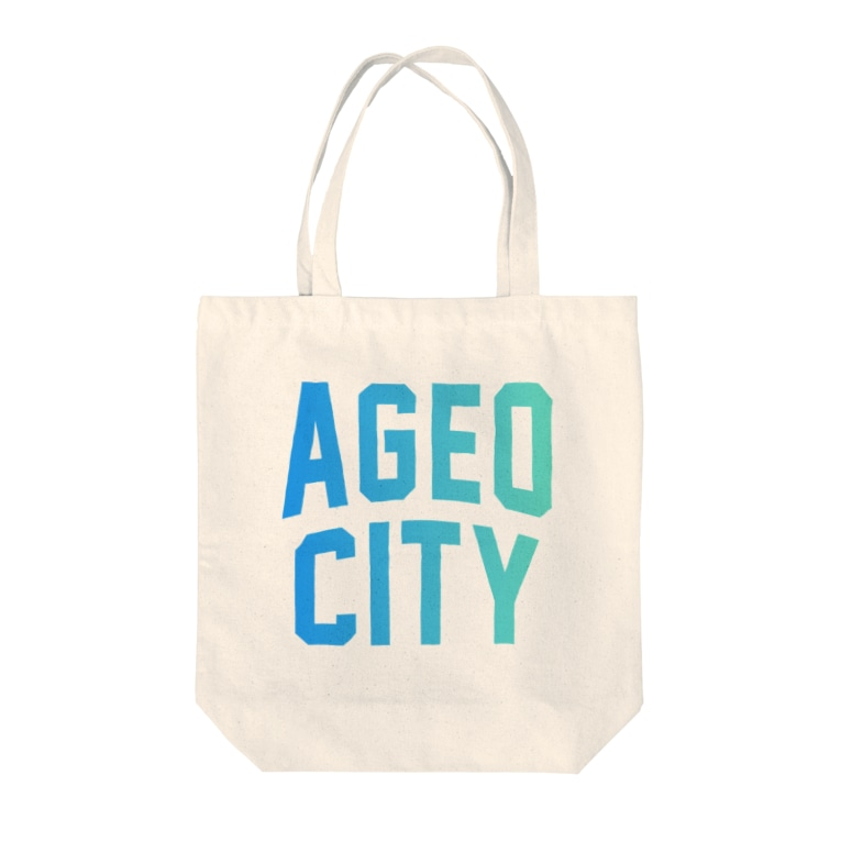 JIMOTO Wear Local Japanの上尾市 AGEO CITY Tote bags