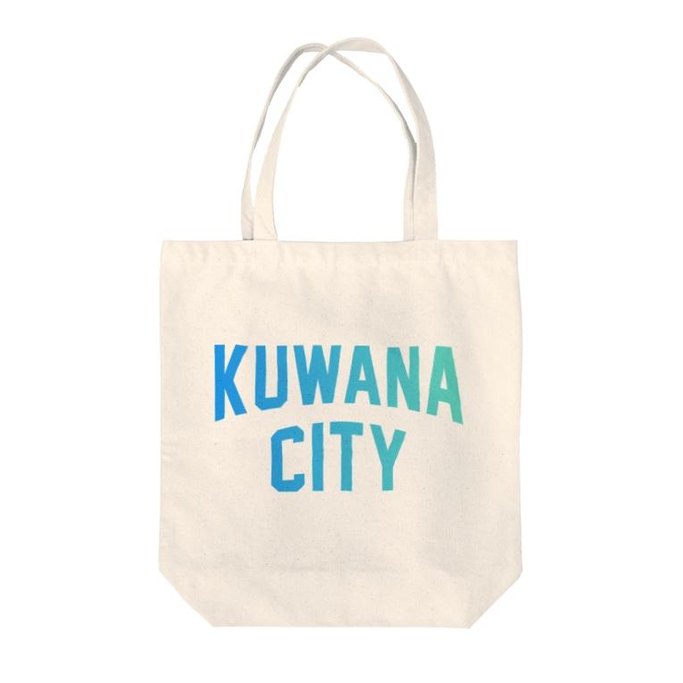 JIMOTO Wear Local Japanの桑名市 KUWANA CITY Tote bags