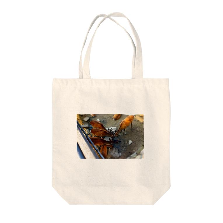 ymineiの宮島の鹿 Tote bags