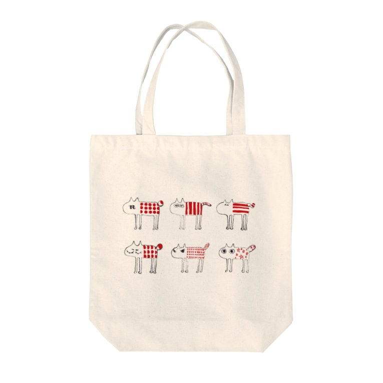 Katsumie SHOP のmoody cats Tote bags
