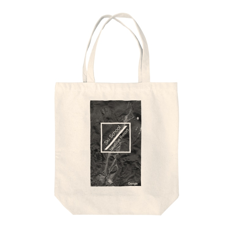 Takatsue_ski_schoolのたかつえSS 航空写真シリーズ Tote bags