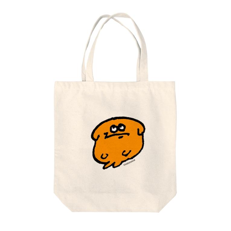 YASHINO CLUB SHOPのじろりジョントートバッグ(テイクアウト推進原価奉仕) Tote bags