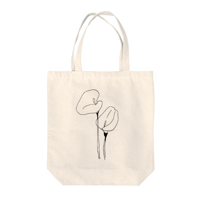 徒波のCOLOR Tote bags