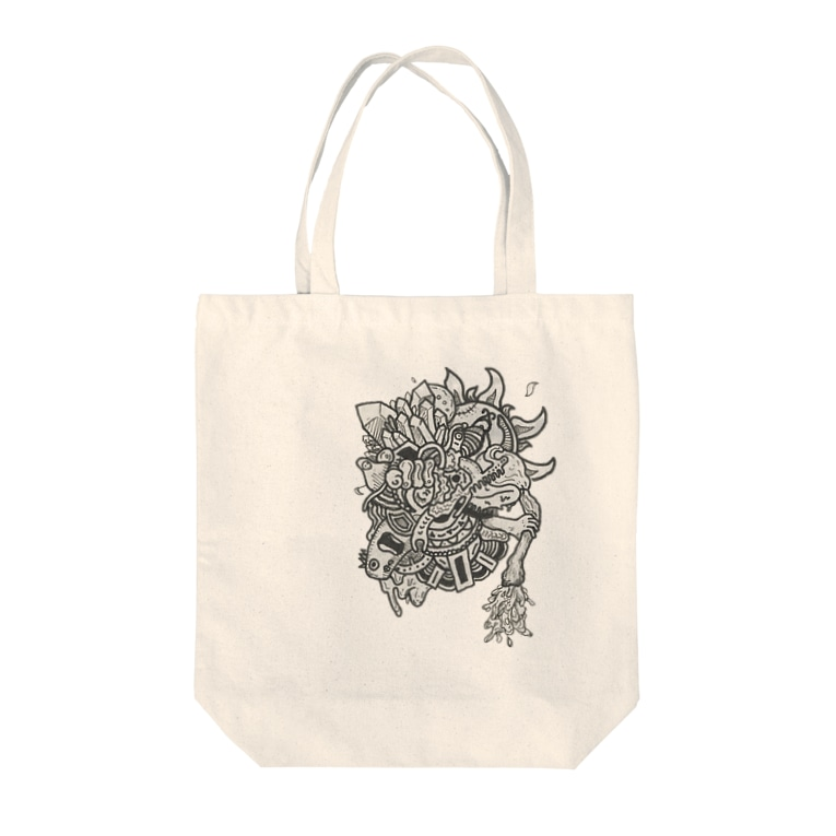 suicideの枯渇 Tote bags