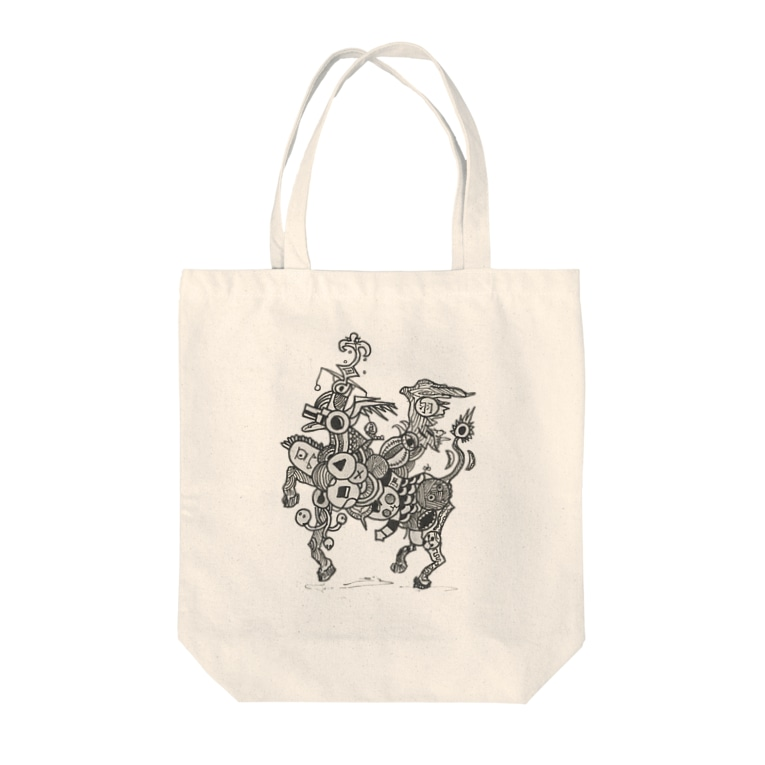 suicideの廃棄ペガサス Tote bags