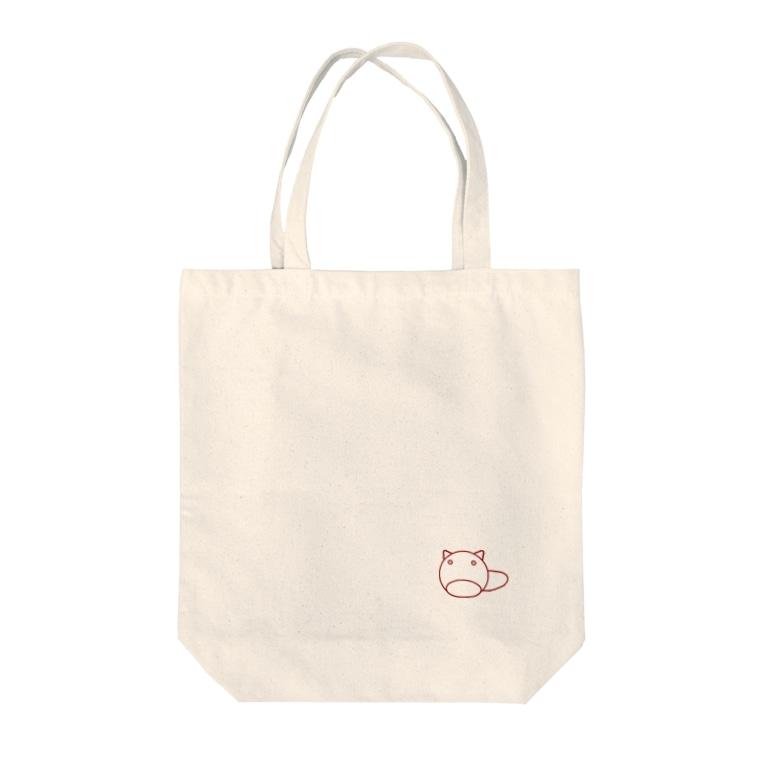 n3のぽんちゃん Tote bags