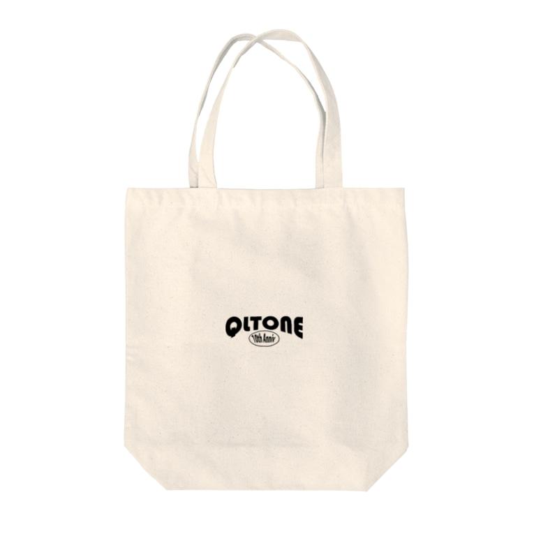 QLTONE10周年記念グッズ特設ページの10周年ロゴ Tote bags