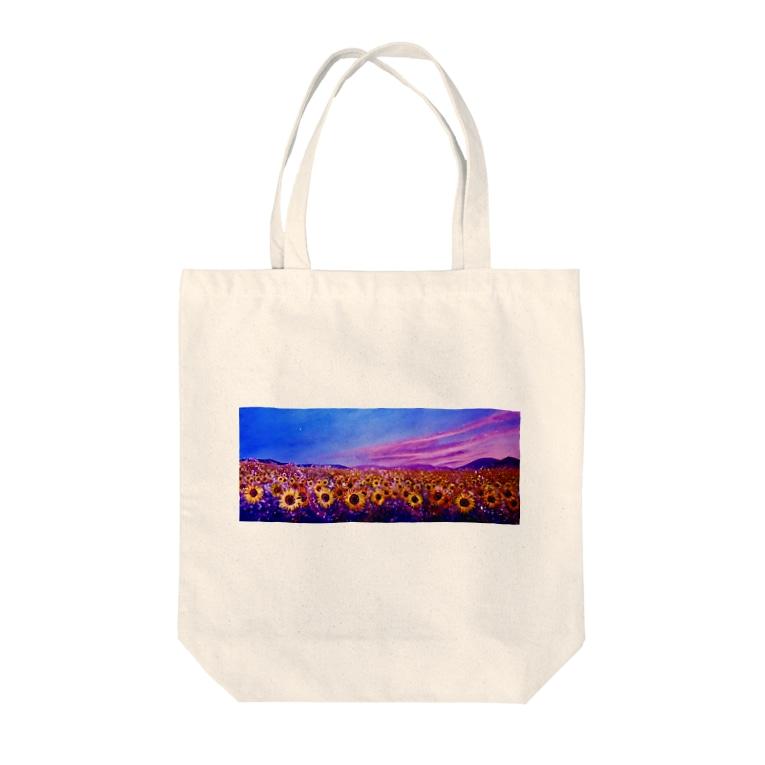 Little Artist MINAのひまわり Tote Bag