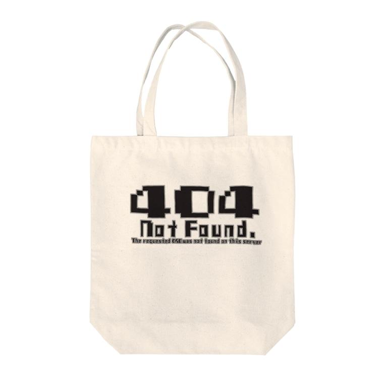 nekomoriの404 notfound type1 Tote bags