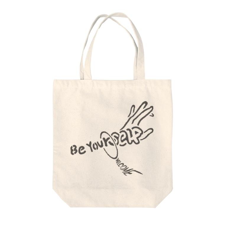 Kazuki Shibataの己を貫け Be Yourself Tote bags