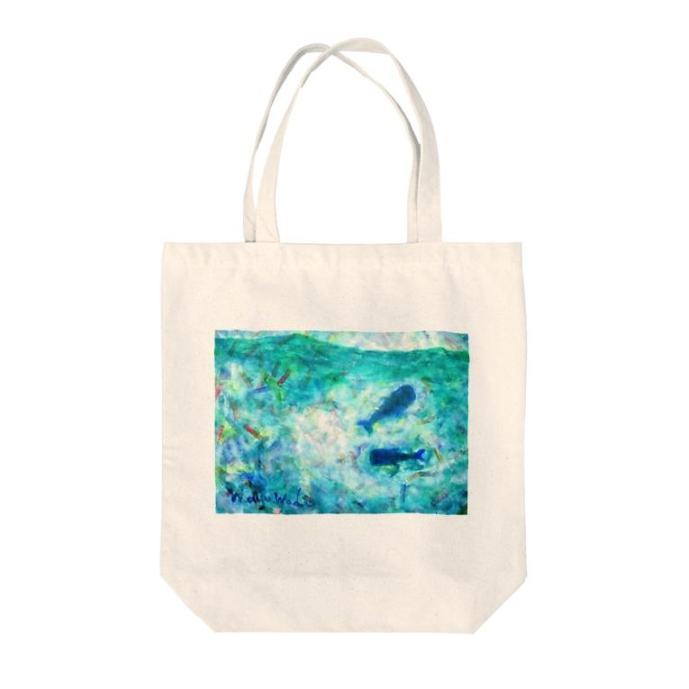 mayu.wadaの海 Tote bags