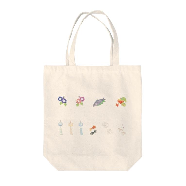 GliateWorkShopのsummer Tote Bag