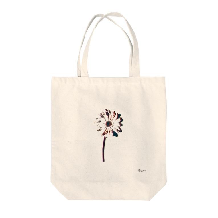 jaco.のフラワートート Tote bags