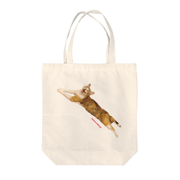 kachimo本舗のカステラちゃん Tote bags