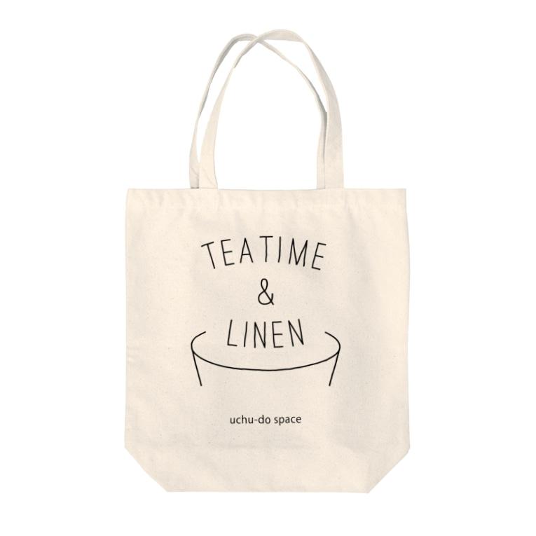あべのTEA TIME&LINEN Tote bags