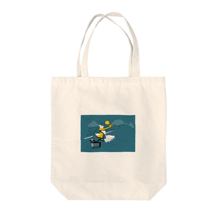 ヱの子の夜 Tote bags