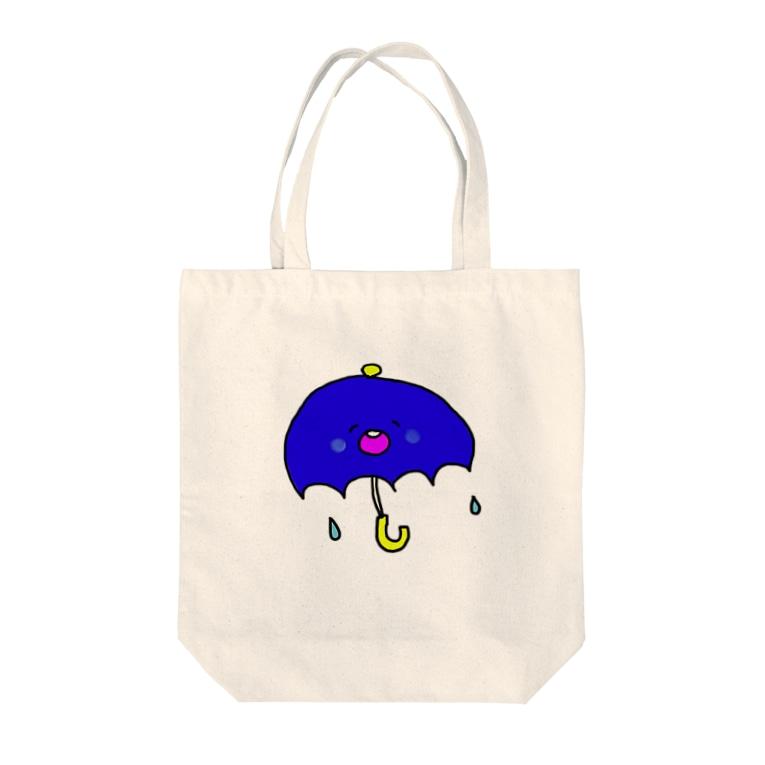 matsunomiのあめふり Tote bags