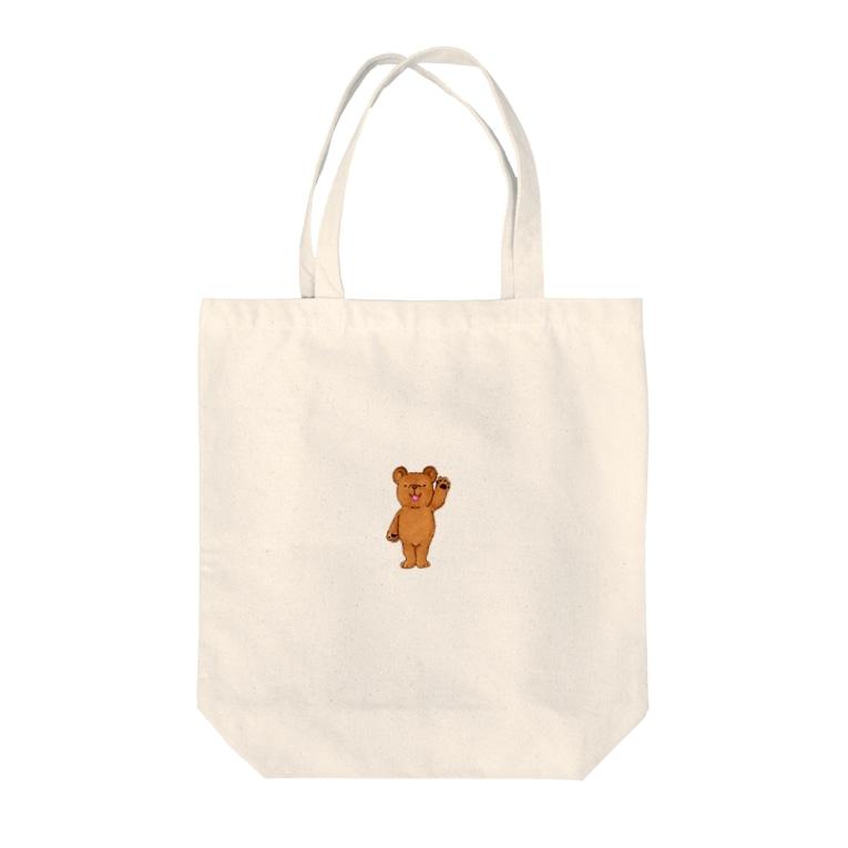 Atelier*Lorschのくまのローシュ Tote bags