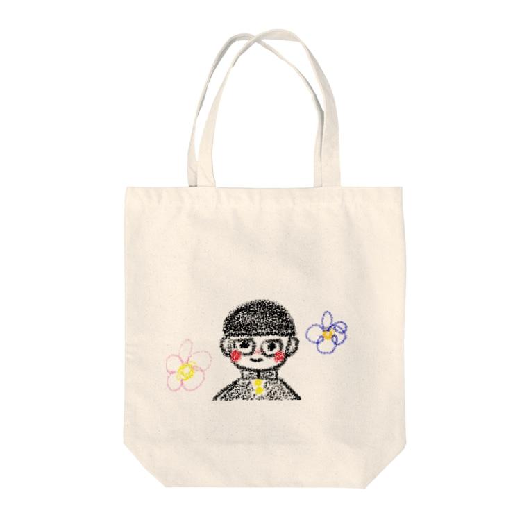 遅延に愛された優香おじさん👨🏻のモブ君のグッズ Tote bags