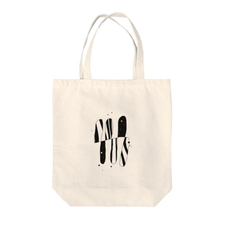 osseのモノクロ Tote bags