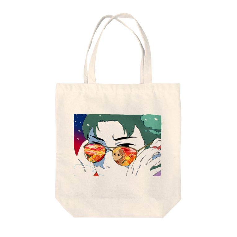 unknown+storeのあなたの視界 Tote bags
