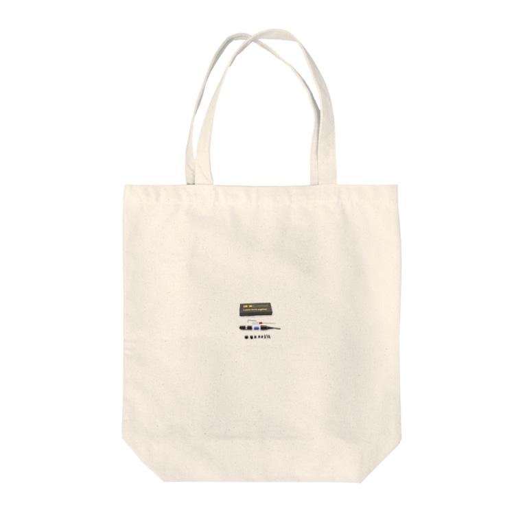 laseronsaのレーザーボアサイター Tote bags