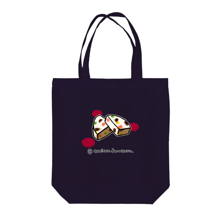 Couleur(クルール)のヌガーグラッセ  Tote bags