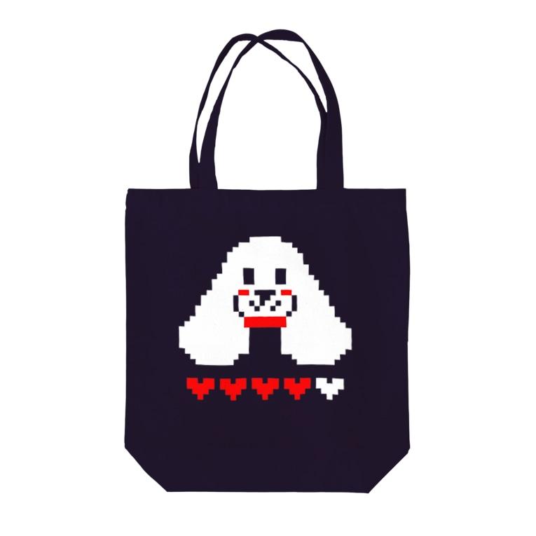 Cocker Spaniel Shopのアメリカンコッカードット絵 Tote bags