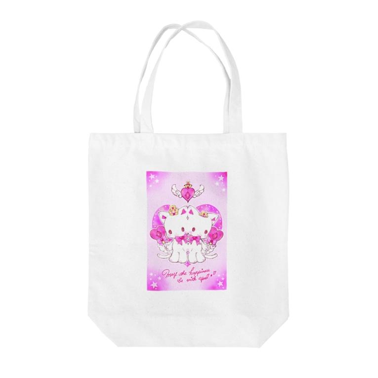 キャラメルリボンゆぅ❤️の☆The Children of Light☆Ruby Tote bags
