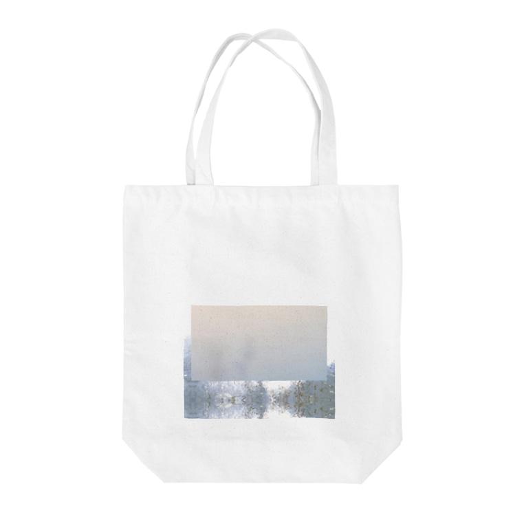 飯野 美穂 / miho iinoの霞む Tote bags