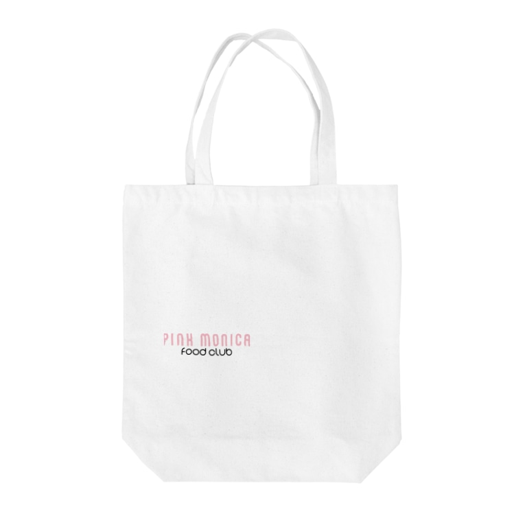 PINK_MONICA_FOODCULBのPINK LOGO BAG Tote bags