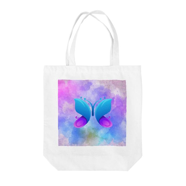 ClearskyのDreambutterfly蝶 Tote bags
