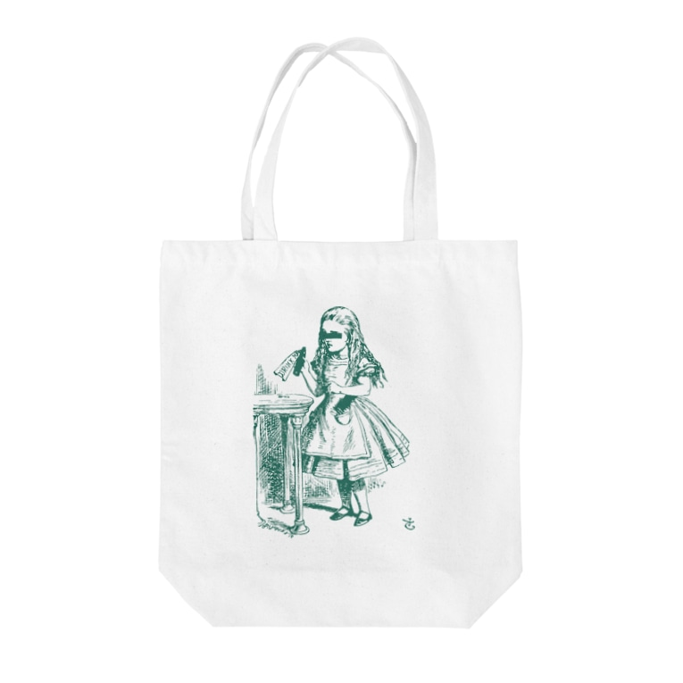 Mad Hatter's Shopの少女A Tote bags