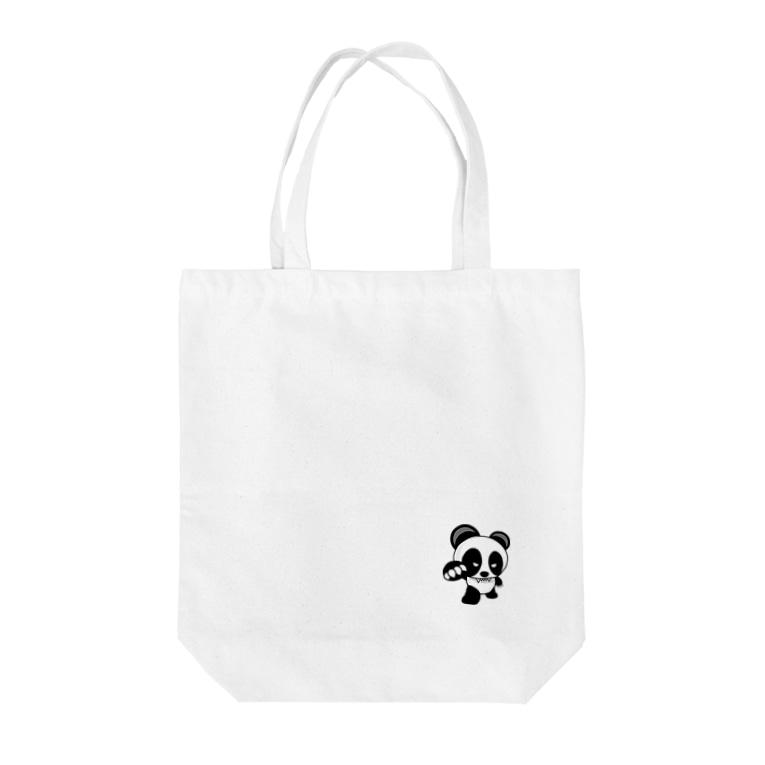 BASE forのBASEfor Panda Tote bags